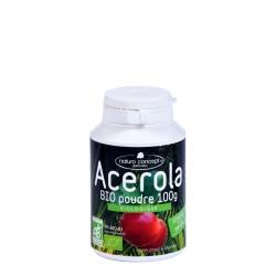 Acerola BIO poudre - 17% de vitamine C